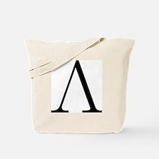 Greek Letter Lambda Tote Bag