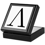 Greek Letter Lambda Keepsake Box
