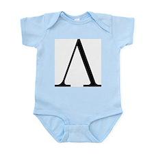 Greek Letter Lambda Infant Bodysuit