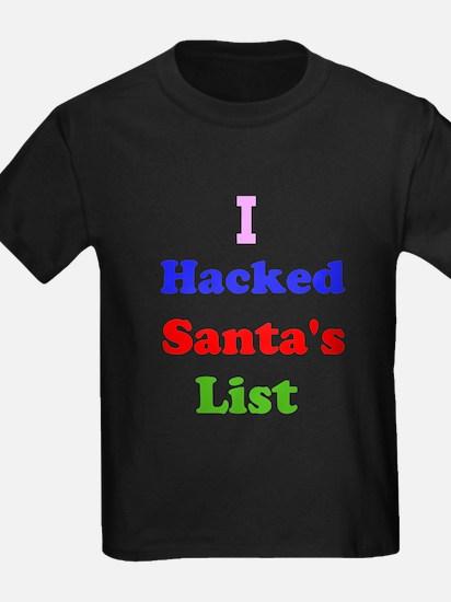 I hacked santas list T