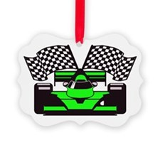 Cute Track and field christmas Ornament
