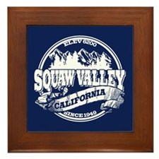 Squaw Valley Old Circle Framed Tile