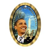 Obama Oval Ornaments
