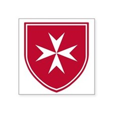 Cross of Malta Sticker