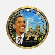 President Obama's 44th Ornament (Round)