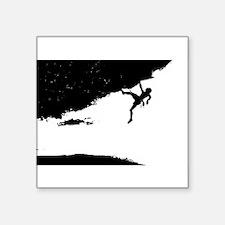 """I luv Adventure Sports Square Sticker 3"""" x 3"""""""