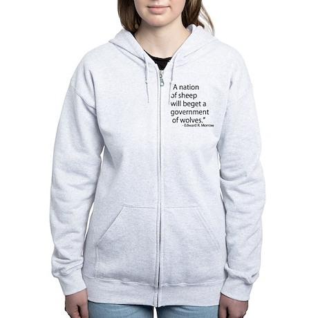 Nation of Sheep Women's Zip Hoodie