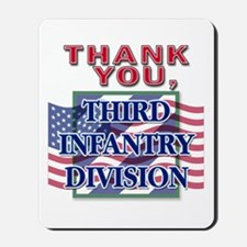 Thank You 3ID - Vertical Mousepad