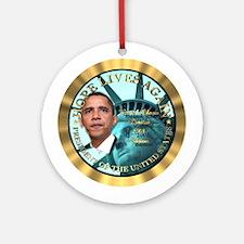 "Obama's ""Hope Lives Again"" Ornament"