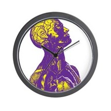Colorful Man Art Wall Clock