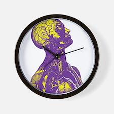 Colorful Man Art Wall Clock