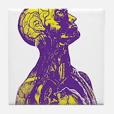 Colorful Man Art Tile Coaster
