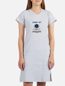 code 47 Women's Nightshirt