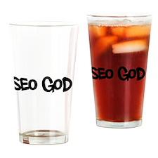 SEO God - Search Engine Optimization Drinking Glas