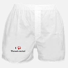 Thrash metal music Boxer Shorts