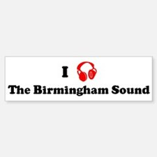 The Birmingham Sound music Bumper Bumper Bumper Sticker