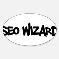 SEO Wizard - Search Engine Optimization Decal