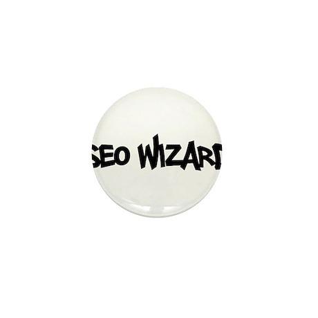 SEO Wizard - Search Engine Optimization Mini Butto