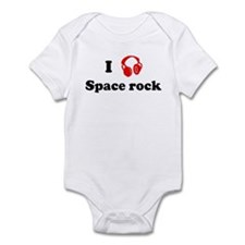 Space rock music Infant Bodysuit