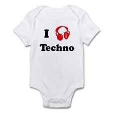 Techno music Infant Bodysuit