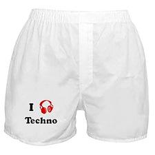 Techno music Boxer Shorts