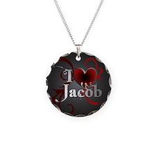 I heart Jacob Necklace