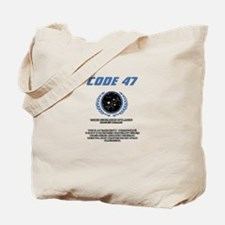 code 47 Tote Bag