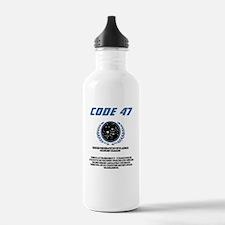 code 47 Water Bottle