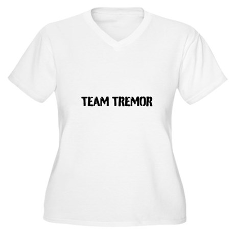 Team Tremor Women's Plus Size V-Neck T-Shirt
