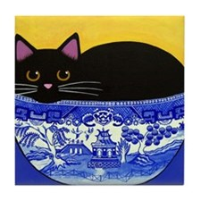 Unique Pets cats Tile Coaster
