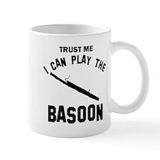 Cool Basoon designs Small Small Mug