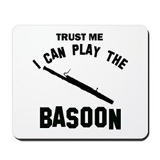 Cool Basoon designs Mousepad