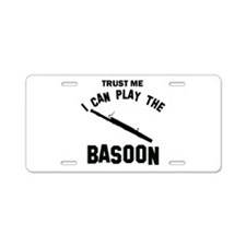 Cool Basoon designs Aluminum License Plate