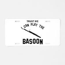 Cool Basoon designs Aluminum License Plate