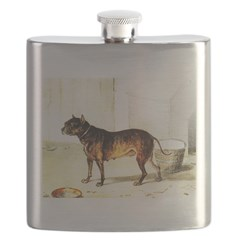 Nettle the Bitch Who Fought A Lion Flask
