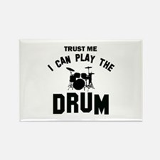 Cool Drums designs Rectangle Magnet