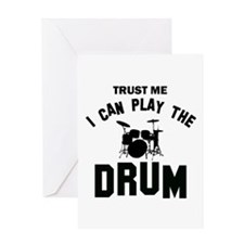 Cool Drums designs Greeting Card