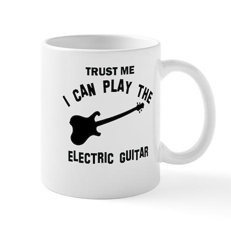 Cool Electric Guitar designs Mug