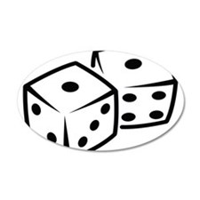 Dice Wall Decal