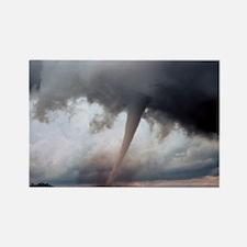 Tornado Fury Rectangle Magnet