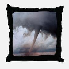 Tornado Fury Throw Pillow