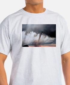 Tornado Fury Ash Grey T-Shirt
