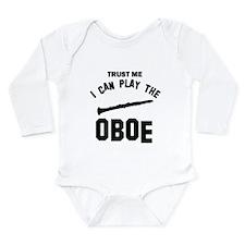 Cool Oboe designs Long Sleeve Infant Bodysuit