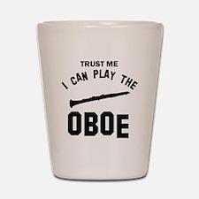 Cool Oboe designs Shot Glass