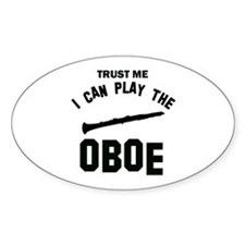 Cool Oboe designs Decal