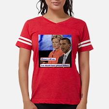 10X10_obama-clinton.jpg Womens Football Shirt