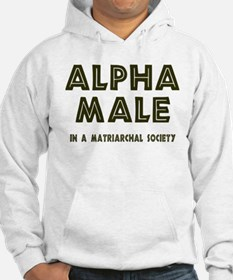 Alpha Male 2-Sided Hoodie