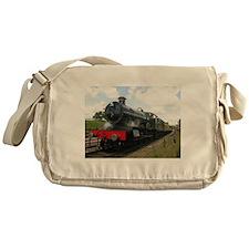 railway gifts, steam train Messenger Bag