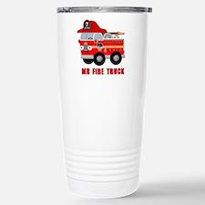 Mr Fire Truck Travel Mug