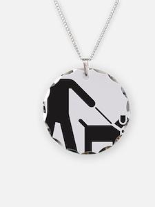 Walking the Dog Necklace